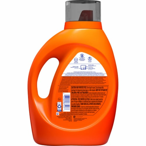 Tide Plus Febreze Freshness Sport Odor Defense HE Turbo Clean Liquid Laundry Detergent Perspective: back