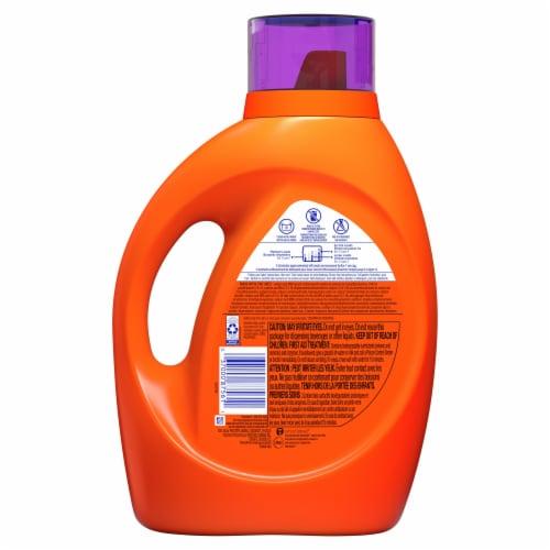 Tide Plus Febreze Spring & Renewal Liquid Laundry Detergent Perspective: back