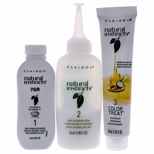 Clairol Natural Instincts 15RG Light Golden Red Hair Color Perspective: back