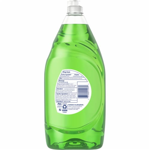 Dawn Ultra Apple Blossom Scent Antibacterial Hand Soap Dishwashing Liquid Perspective: back