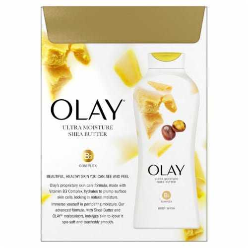 Olay Ultra Moisture Shea Butter Body Wash Perspective: back