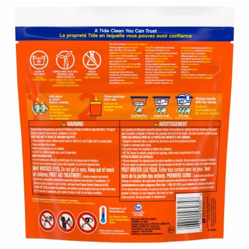 Tide® PODS™ Original Laundry Detergent Pacs Perspective: back