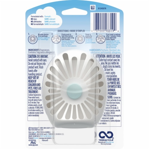 Febreze Small Spaces Hawaiian Aloha Scent Air Freshener Perspective: back