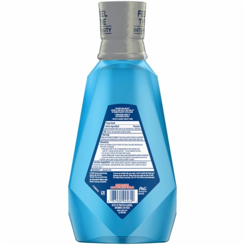 Crest Pro-Health Advanced Mouthwash Tartar Protection Refreshing Mint Perspective: back
