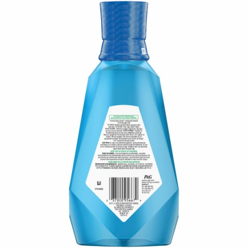 Crest Scope Outlast Long Lasting Peppermint Mouthwash Perspective: back