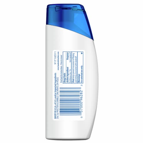 Head & Shoulders Classic Clean Anti-Dandruff Shampoo Perspective: back