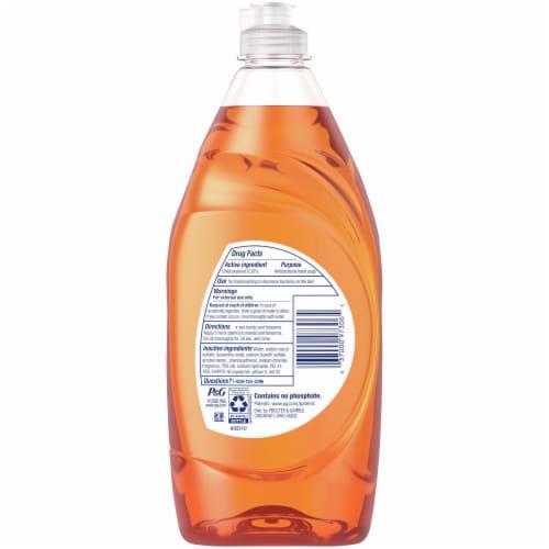 Dawn® Ultra Orange Scent Antibacterial Hand & Dish Soap Perspective: back