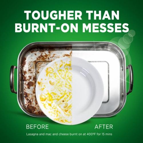 Cascade Platinum ActionPacs Dishwasher Detergent Fresh Scent Perspective: back