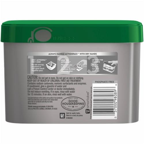 Cascade Platinum + Oxi Fresh Scent Dishwasher Detergent Action Pacs Perspective: back