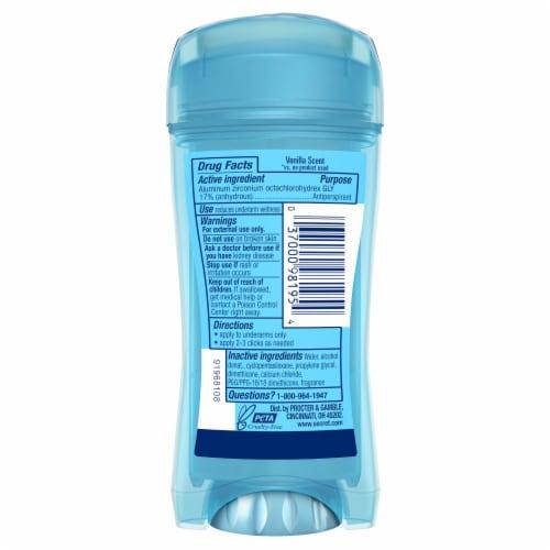 Secret Vanilla Clear Gel Women's Antiperspirant Deodorant Perspective: back