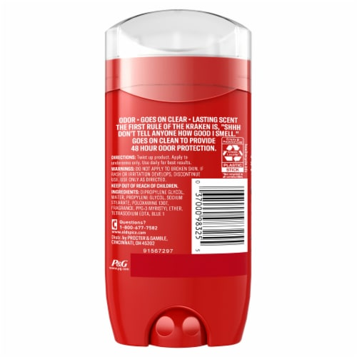 Old Spice Aluminum Free Deodorant for Men Krakengard 48 Hr. Protection Perspective: back