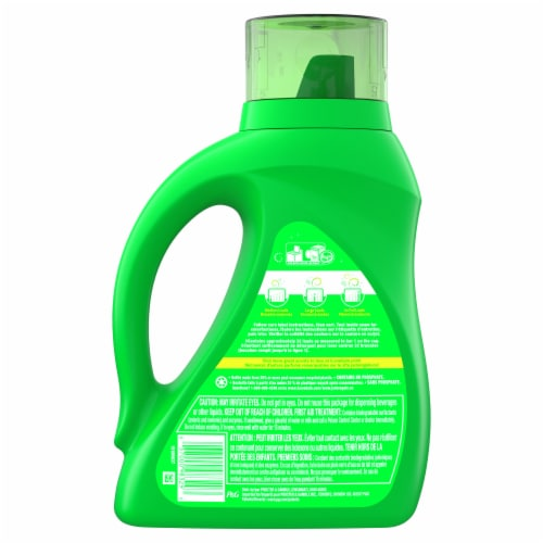 Gain + Aroma Boost Moonlight Breeze with Febreze Freshness Liquid Laundry Detergent Perspective: back
