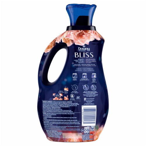 Downy Infusions Bliss Sparkling Amber & Rose Liquid Fabric Softener Perspective: back