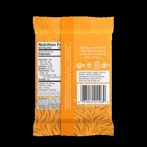 Endangered Species Rice Crisp + 60% Dark Chocolate Bar Perspective: back