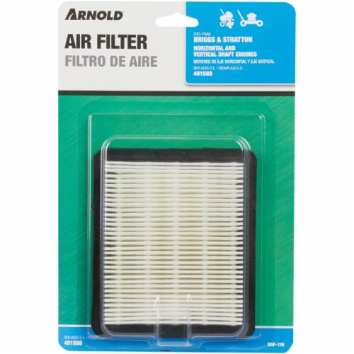Arnold Air Filter - White Perspective: back