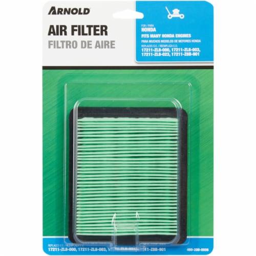 Arnold Honda Engine Air Filter - Green Perspective: back