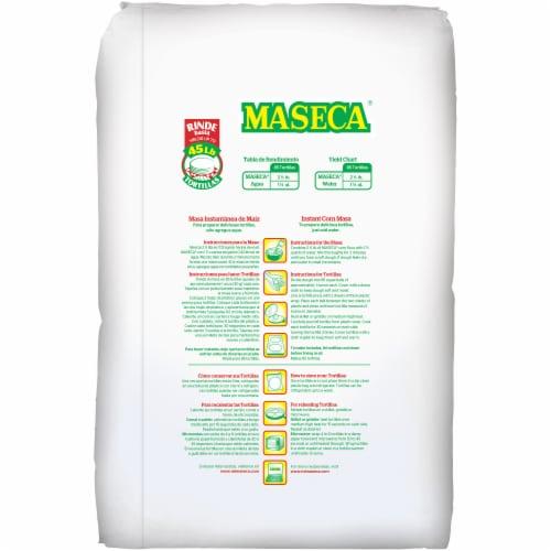 Maseca Masa Instant Corn Masa Flour Perspective: back