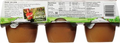 Musselman's Cinnamon Applesauce Cups Perspective: back