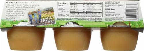 Musselman's Natural Applesauce Perspective: back