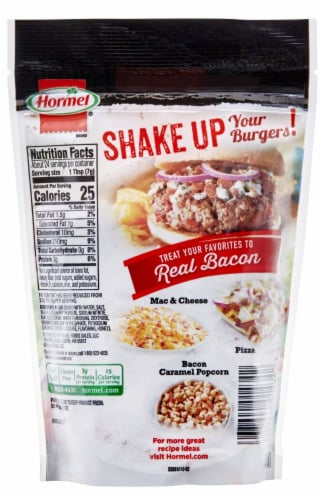 Hormel Real Bacon Bits Perspective: back