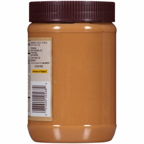 Skippy® Natural Creamy Peanut Butter Spread Perspective: back