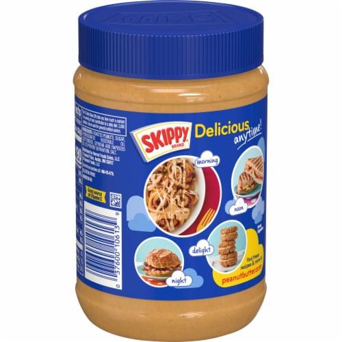 Skippy Super Chunk Peanut Butter Perspective: back
