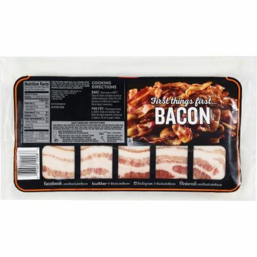 Hormel Black Label Maple Bacon Perspective: back