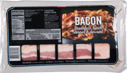 Hormel® Black Label Thick Slice Bacon Perspective: back
