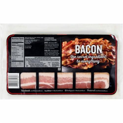 Hormel Black Label Original Bacon Perspective: back