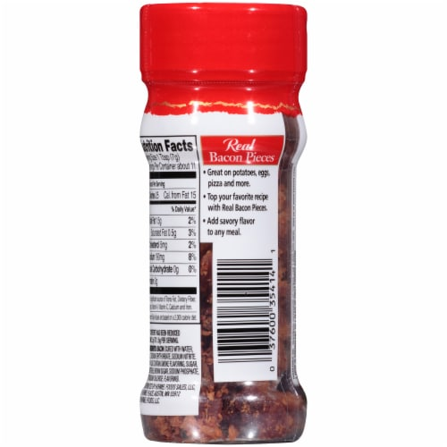 Hormel® Bacon Pieces Shaker Perspective: back