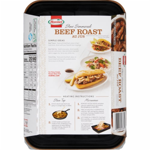 Hormel Beef Roast Au Jus Perspective: back