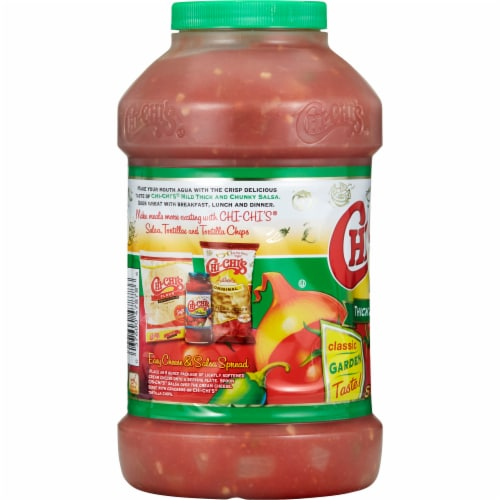 Chi-Chi's Mild Thick & Chunky Salsa Perspective: back