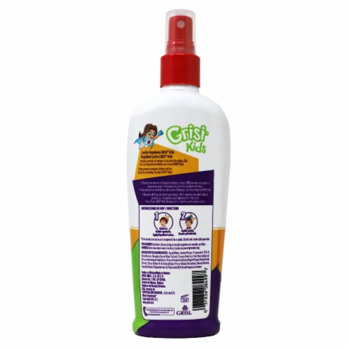 Grisi Kids Lice Repel Lotion Perspective: back