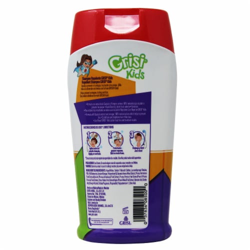 Grisi Kids Lice Repel Shampoo Perspective: back