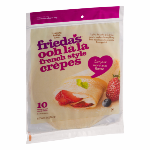 Frieda's French Style Crepes Perspective: back