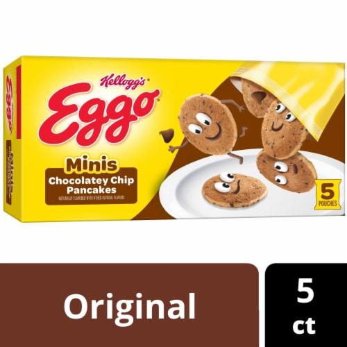 Kellogg's Eggo Frozen Breakfast Pancake Bites Chocolatey Chip Perspective: back