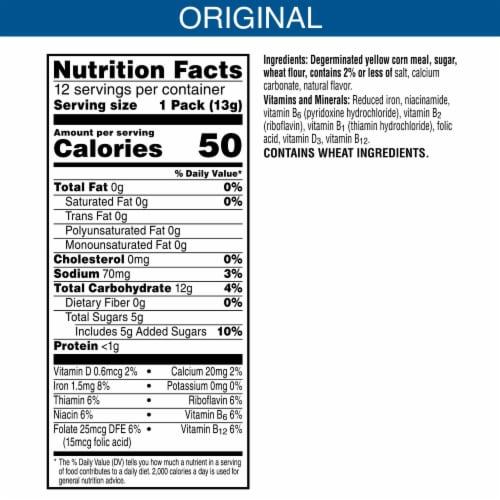 Kellogg's Tiger Paws Jumbo Snax Cereal Snacks Original Cereal Snacks Perspective: back