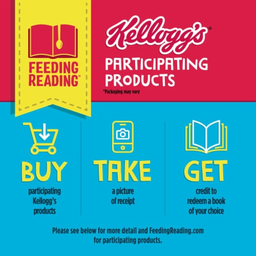 Eggo Frozen Breakfast Waffles Homestyle Family Pack Perspective: back