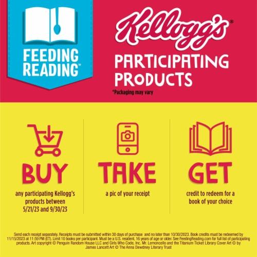 Kellogg's Eggo Frozen Breakfast Waffles Homestyle Family Pack Perspective: back