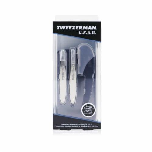 Tweezerman G.E.A.R. Brow Grooming Kit Perspective: back
