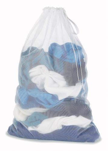Whitmor Mesh Laundry Bag Perspective: back