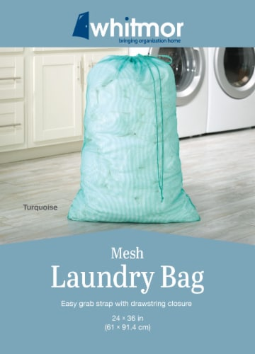 Whitmor Mesh Laundry Bag - Assorted Perspective: back