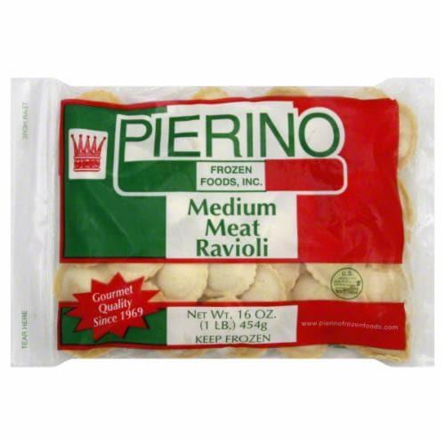 Pierino Medium Meat Ravioli Perspective: back
