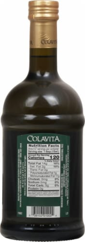 Colavita Extra Virgin Olive Oil Perspective: back