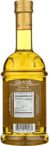 Colavita Delicate & Mild Olive Oil Perspective: back
