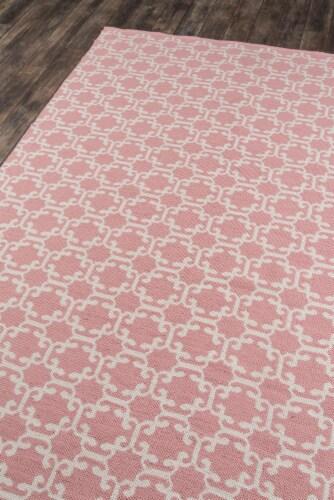 "Madcap Cottage Palm Beach PAM-2 Pink Via Mizner 5' X 7'6"" Rug Perspective: back"