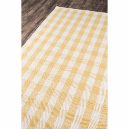 """Madcap Cottage Highland Fling HGH-1 Gold A Scotch Please 3'6"""" X 5'6"""" Rug Perspective: back"""