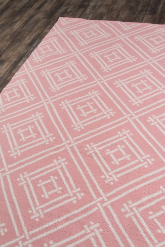 """Madcap Cottage Palm Beach PAM-3 Pink Everglades Club 9'6"""" X 13'6"""" Rug Perspective: back"""