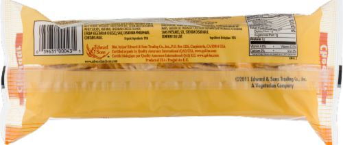 Edward & Sons Cheddar Brown Rice Snaps Perspective: back
