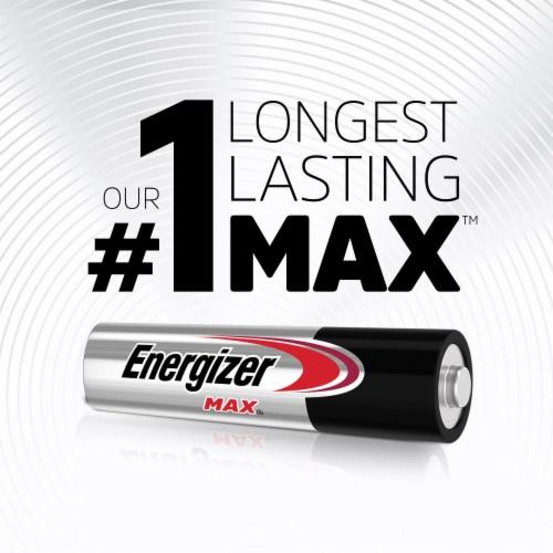 Energizer® Max AAA Alkaline Batteries Perspective: back